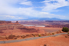 Utah panorama. Colorado river canyon. Royalty Free Stock Photos