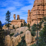 Utah - parque de estado rojo de la barranca imagenes de archivo