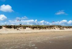 Utah plaża Normandy Francja obrazy royalty free