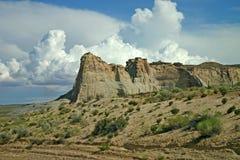 Utah promontory Stock Images