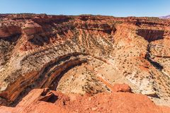 Utah River Gorge Royalty Free Stock Photo