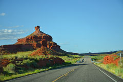 Utah roadside mountains landscape. Stock Photography