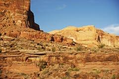 Utah Rocky Desert Royalty Free Stock Images