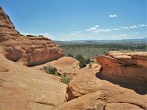 Utah ` s jaru obręczy Rekreacyjny teren Zdjęcia Royalty Free