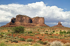 Utah's monument valley Stock Photography