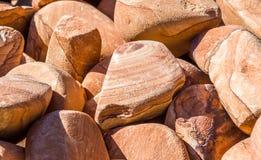 Utah sandstone. Bulk in souvenir shop Royalty Free Stock Photo