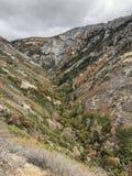 Utah-Schlucht in der Fall-Farbe stockbild