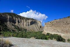 Utah: Shale Mountain Landscape Royalty Free Stock Photos