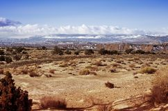 Utah skalista Pustynia Fotografia Stock