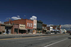 Utah small town Royalty Free Stock Photos