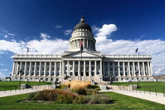 Utah stanu Capitol obraz stock