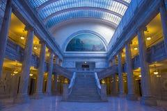 Utah stanu Capitol budynku wnętrze Zdjęcie Stock