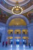 Utah stanu Capitol budynku wnętrze Obraz Stock
