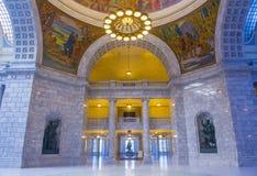 Utah stanu Capitol budynku wnętrze Fotografia Stock