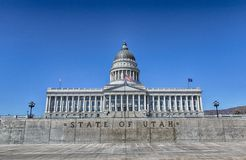 State of Utah Capital HDR Royalty Free Stock Image