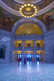 Utah State Capitol Building interior Royalty Free Stock Images