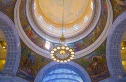 Utah State Capitol Building interior Stock Photo