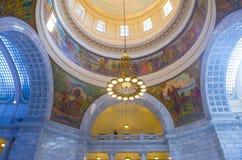 Utah State Capitol Building interior Stock Images