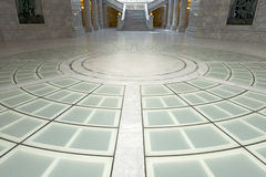Utah State Capitol Rotunda Floor Royalty Free Stock Image