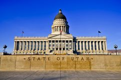 Utah State Capitol, Salt Lake City Royalty Free Stock Photography