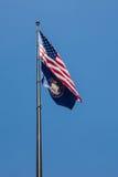 Utah State Flag Royalty Free Stock Photos