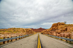 Utah State Route 95. State Route 95 or Bicentennial Highway is a state highway located in the southeast of the U.S. state of Utah. The highway is an access road Royalty Free Stock Images