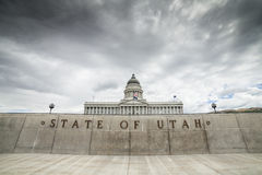 Utah statKapitolium, Salt Lake City Royaltyfri Bild