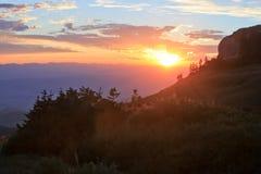 Utah sunrise Stock Photos