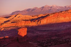 Utah Sunset Scenery Stock Image