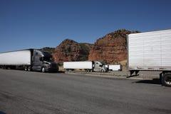 Utah Truckstop Stockfotos
