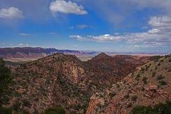Utah utsikt 3 arkivbild