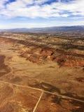 Utah wiejskiego krajobrazu pustyni Zdjęcia Royalty Free
