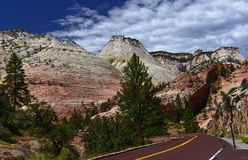 Utah - Zion National Park Royalty Free Stock Images