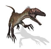 Utahraptor vector illustration