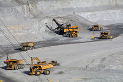 Utahs Kennecott Kupfermine Lizenzfreies Stockbild