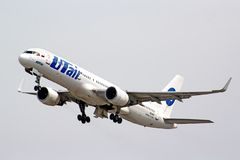 UTair Boeing 757-200 Royalty Free Stock Images