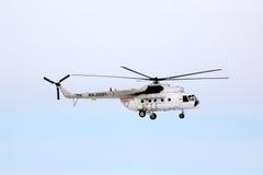 UTair Mil Mi-8T Royaltyfria Foton