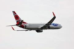 UTair-Ucrania Boeing 737 Fotos de archivo libres de regalías