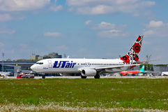 UTair-Ukraine Boeing 737 Stock Photos