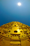 Utama Tempel bei Sangklaburi Lizenzfreies Stockbild