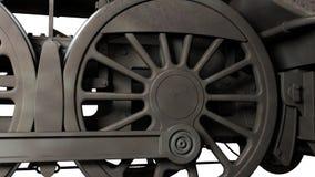 utbilda hjul Arkivbild