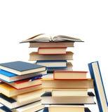 Utbildning bokar bunten Fotografering för Bildbyråer