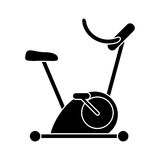 utbildning för övning för konturcykel statisk stock illustrationer