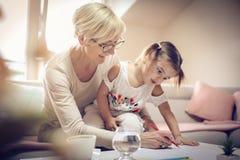 Utbildning hemma royaltyfri foto