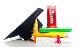 Utbildning i det Storbritannien begreppet Royaltyfri Fotografi