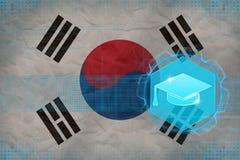 Utbildning i det Sydkorea begreppet Fotografering för Bildbyråer