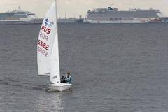 Utbildning i segling Royaltyfri Fotografi