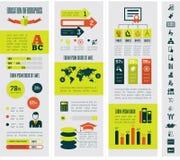 Utbildning Infographics Royaltyfria Foton