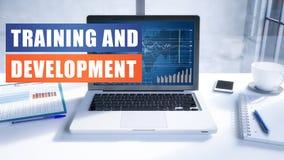 Utbildning och utveckling Arkivfoto