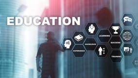 Utbildning som lär, studiebegrepp Utveckling för Ð-¡ apacity Utbildande personlig utveckling Affär för blandat massmedia royaltyfri foto